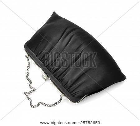 Vintage Black Fancy Bag