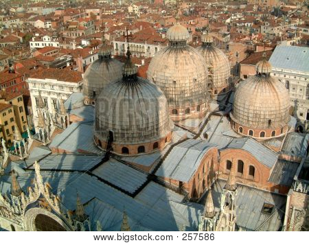 Roof Of Basilica Venice