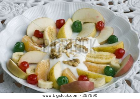 Fruit Salad In A Plate
