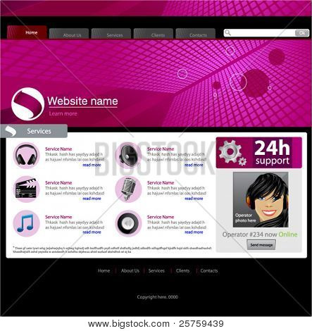 Software Site Template - Services page #2