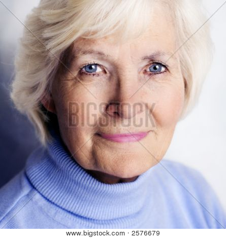 Senior Woman Closeup