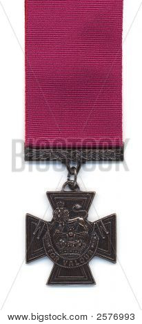 British Victoria Cross - Crimson Ribbon