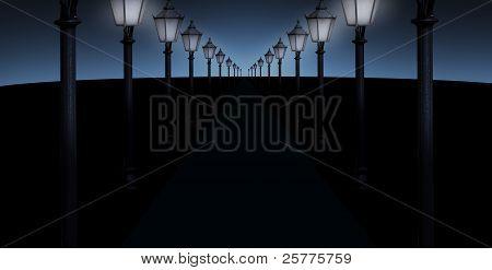 Lighted Pathway
