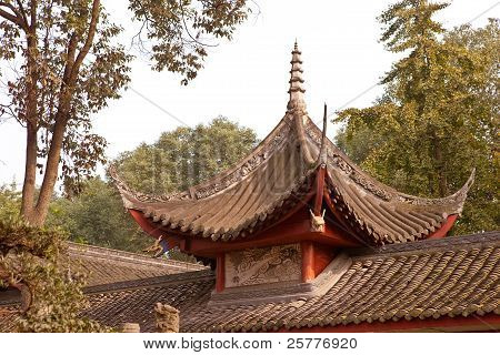 Chinese Style Ancient Roof