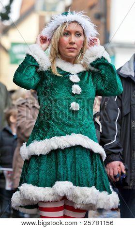 Christmas parade elf