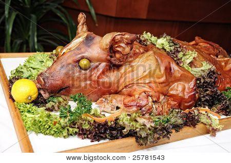 roast a pig