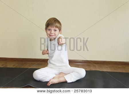 Baby Yoga At Home.