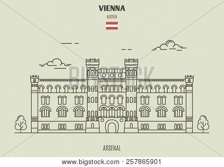 Arsenall In Vienna Austria Landmark