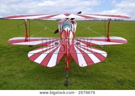 Biplane Rear View