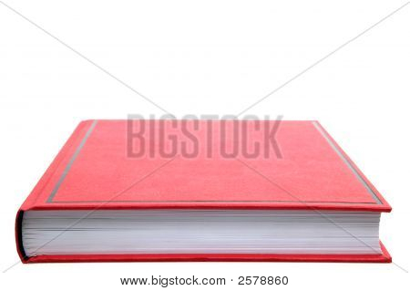 Closed Red Book.
