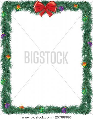 Christmas Frame 4.25x5.25