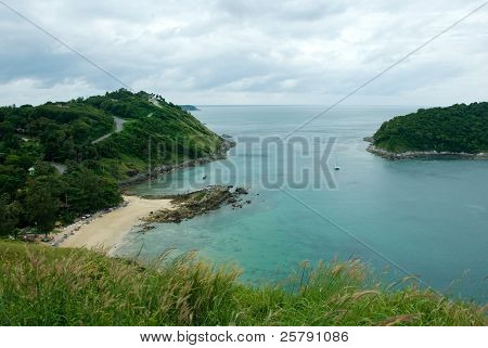 Yanui Beach is a quiet little cove located