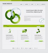 Website Design, Ecological Theme