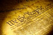 picture of preamble  - spot light on the declaration of independence - JPG
