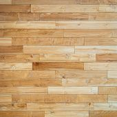 Parquet floor texture, square crop poster