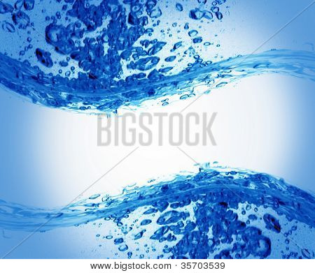 abstract water splash background