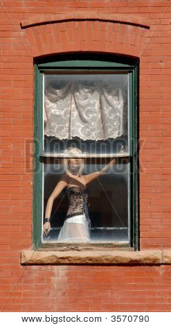 Mannequin In Window