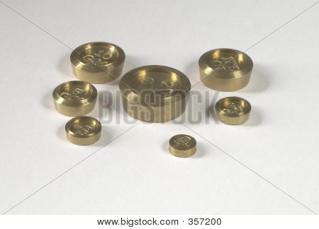 Brass Weights