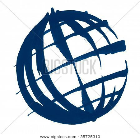 Globe Illustration Sketch