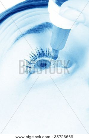 Eyedroppers. Closeup view. Very high resolution.
