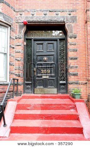 The Emergency Red Door