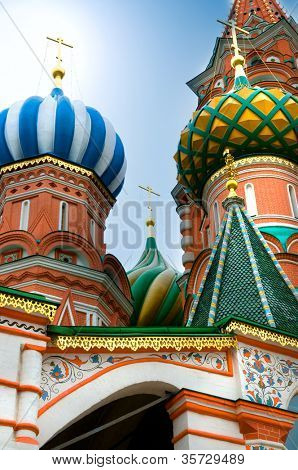 st.Basil cathedral in Moscow