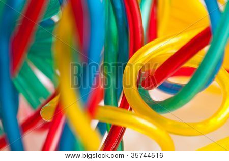Colorfull cables