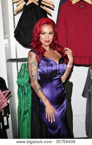 LOS ANGELES - AUG 3: Elaina Soto at the opening of the 'Pinup Girl Boutique' on August 3, 2012 in Burbank, California