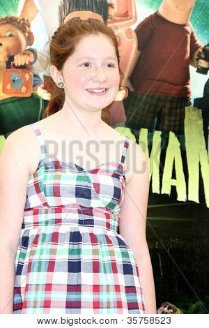 LOS ANGELES - AUG 5:  Emma Kenney arrives at the