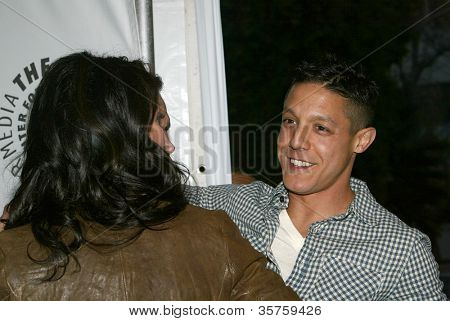 BEVERLY HILLS - MARCH 7: Katey Sagal and Theo Rossi arrive at the 2012 Paleyfest