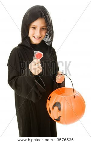 Lollipop de Halloween