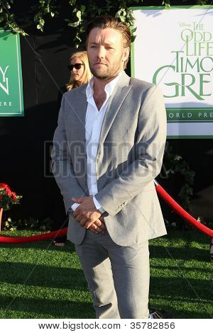 HOLLYWOOD, CA - AUGUST 6: Joel Edgerton arrives at the world premiere of 'The Odd Life of Timothy Green' at the El Capitan Theatre on August 6, 2012 in Hollywood, California.