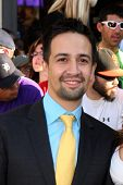 LOS ANGELES - AUG 6:  Lin-Manuel Miranda arriving at the World Premiere of  ?The Odd Life of Timothy