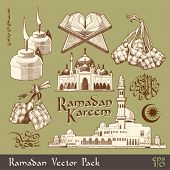 picture of pelita  - Vector Ramadan Element Translation of Jawi Text - JPG