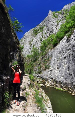 Nature photographerat Turzii Canyon, Transylvania, Romania