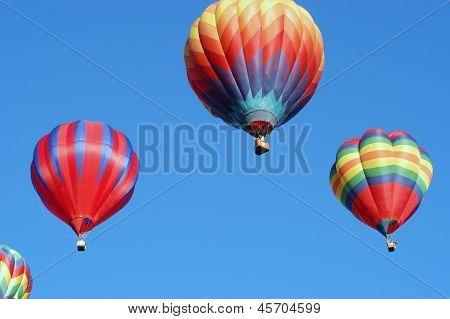 Balloon trio