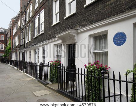 London Historic Home Of Lawrence Of Arabia