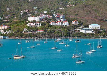 San Martin Island, Caribbean