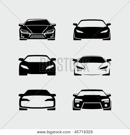 Vectores de autos