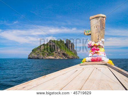 Thai Vessel Front View