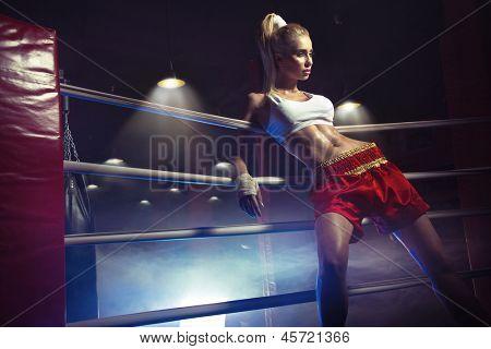 Sexy Boxerin