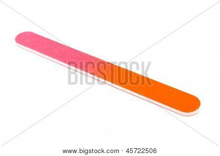 nail file on a white background