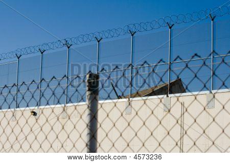 Prison Camp Razor Wire