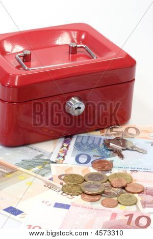 Lockbox And Money