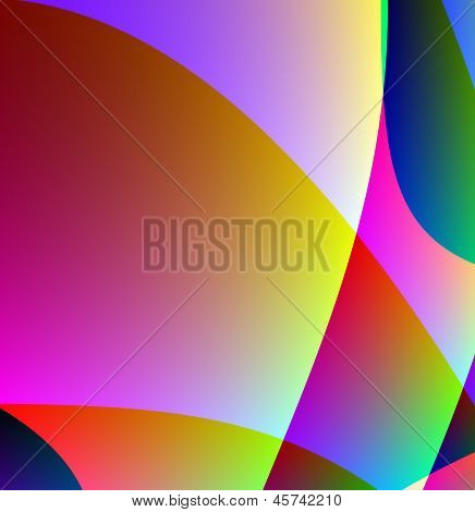 Bright Abstract  Background For A Design