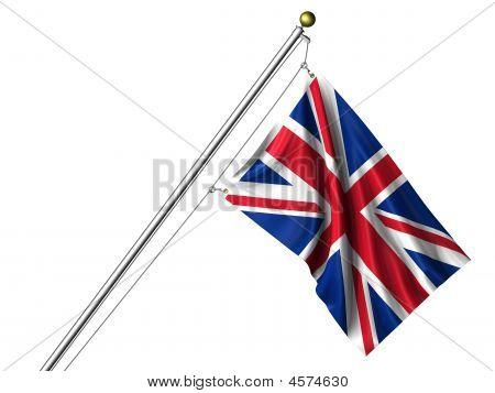 Isolated British Flag