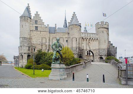Antwerp. Steen's Ancient Castle.