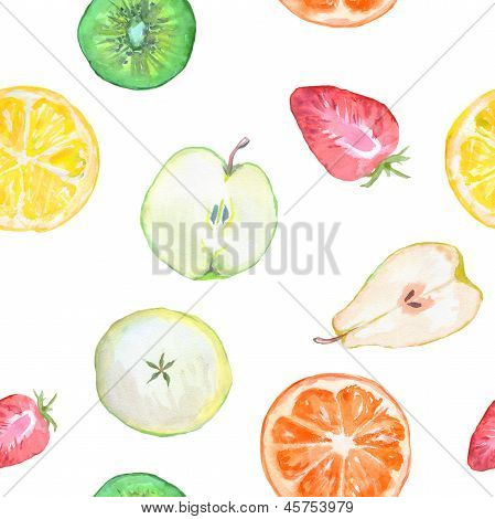 Fruit Slices Seamless