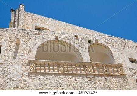 Church of St. Domenico. Ceglie Messapica. Puglia. Italy.