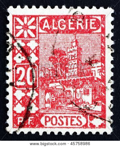 Postage Stamp Algeria 1926 Mosque Of Sidi Abd-er-rahman